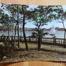 Postales: VILLAGARCIA DE AROSA PLAYA DE COMPOSTELA ED. ARRIBAS Nº 23. Lote 153447962