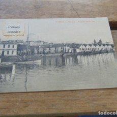 Postales: TARJETA POSTAL FERROL ARSENAL PARQUE DE ANCLAS. Lote 153968134