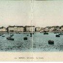 Postales: LA CORUÑA- VISTA PANORÁMICA-DIPTICO -AÑO 1917-GONZALEZ- MUY RARA. Lote 154312502