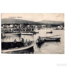 Cartes Postales: CANGAS.(PONTEVEDRA). PUERTO. Lote 154341274