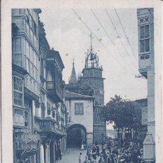 Postales: BETANZOS (LA CORUÑA) - PLAZA DEL GENERALISIMO FRANCO. Lote 154344074