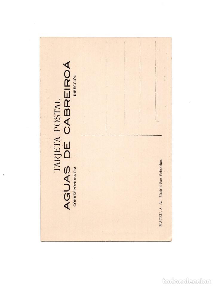 Postales: AGUAS DE CABREIROA.(VERIN, ORENSE).- UN RINCON DEL PARQUE - Foto 2 - 154862034