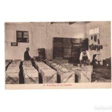 Postales: AGUAS DE CABREIROA.(VERIN, ORENSE).- EMBALAJE DE LAS BOTELLAS. Lote 154862642