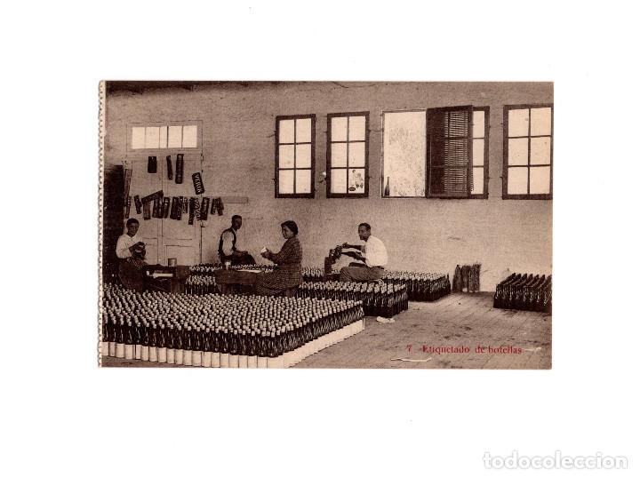 AGUAS DE CABREIROA.(VERIN, ORENSE).- ETIQUETADO DE BOTELLAS (Postales - España - Galicia Antigua (hasta 1939))