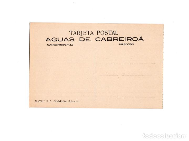 Postales: AGUAS DE CABREIROA.(VERIN, ORENSE).- ETIQUETADO DE BOTELLAS - Foto 2 - 154862774
