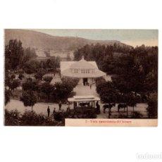 Postales: AGUAS DE CABREIROA.(VERIN, ORENSE).- PANORÁMICA KIOSCO. Lote 154863198