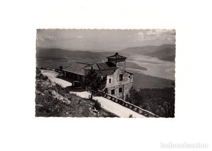 LA GUARDIA.(PONTEVEDRA).- PAZO DE SANTA TECLA Y CUENCA DEL MIÑO (Postales - España - Galicia Antigua (hasta 1939))