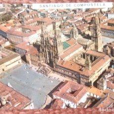 Postales: SANTIAGO DE COMPOSTELA - VISTA AEREA. Lote 156028142