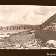 Postales: BAYONA, PONTEVEDRA - CLICHE NEGATIVO EN CELULOIDE - AÑOS 1900-1920 - FOTOTIP. THOMAS, BARCELONA. Lote 156863330
