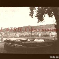 Postales: BAYONA, PONTEVEDRA - CLICHE NEGATIVO EN CELULOIDE - AÑOS 1900-1920 - FOTOTIP. THOMAS, BARCELONA. Lote 156863382