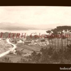 Postales: BAYONA, PONTEVEDRA - CLICHE NEGATIVO EN CELULOIDE - AÑOS 1900-1920 - FOTOTIP. THOMAS, BARCELONA. Lote 156863466