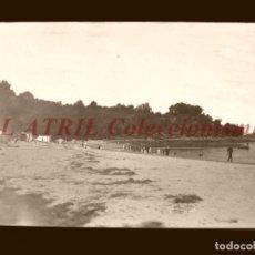 Postales: BAYONA, PONTEVEDRA - CLICHE NEGATIVO EN CELULOIDE - AÑOS 1900-1920 - FOTOTIP. THOMAS, BARCELONA. Lote 156863542