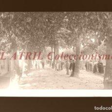 Postales: MONDARIZ, PONTEVEDRA - CLICHE NEGATIVO EN CELULOIDE - AÑOS 1900-1920 - FOTOTIP. THOMAS, BARCELONA. Lote 156863970