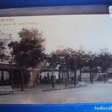 Postales: (PS-59939)POSTAL FOTOGRAFICA DE LA CORUÑA-UNA LATERAL DEL PASEO RELLENO. Lote 156888854