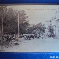 Postales: (PS-59928)POSTAL DE FERROL-PLAZA DEL MARQUES DE SAN SATURNINO. Lote 156891038