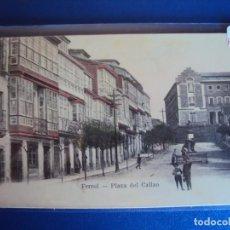 Postales: (PS-59927)POSTAL DE FERROL-PLAZA DEL CALLAO. Lote 156891198