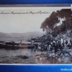 Postales: (PS-59921)POSTAL FOTOGRAFICA DE VIGO-ESCENAS PESQUERAS EN LA PLAYA DE ESPIÑEIRO. Lote 156928970