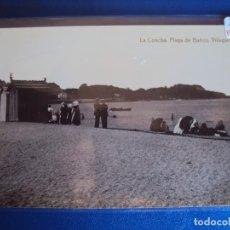 Postales: (PS-59917)POSTAL FOTOGRAFICA DE VILLAGARCIA-LA CONCHA PLAYA DE BAÑOS. Lote 156929238