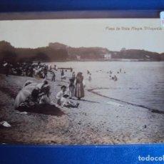Postales: (PS-59916)POSTAL FOTOGRAFICA DE VILLAGARCIA-LA CONCHA PLAYA DE VISTA ALEGRE. Lote 156929298