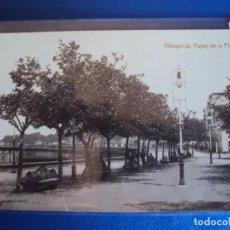 Postales: (PS-59915)POSTAL FOTOGRAFICA DE VILLAGARCIA-PASEO DE LA PLAYA. Lote 156929334
