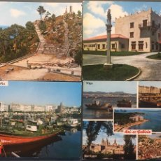 Postales: LOTE 4 POSTALES GALICIA. Lote 156957394