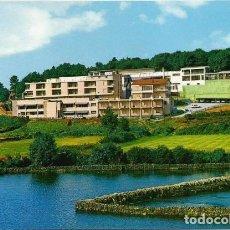 Postales: POSTAL LUGO HOTEL MIÑO VISTA GENERAL GALICIA 1975 . Lote 160268646