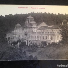 Postales: POSTAL PONTEVEDRA PALACIO DE LOURIZAN 1922. Lote 157241290