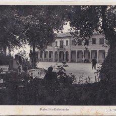 Postales: LA TOJA (PONTEVEDRA) - PABELLON BALNEARIO. Lote 157802942