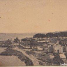 Postales: LA TOJA (PONTEVEDRA) - BALNEARIO -VISTA PANORAMICA DEL EDSTABLECIMIENTO ANTIGUO. Lote 157804182