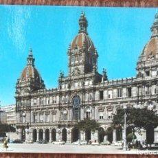 Postales: LA CORUÑA - PALACIO MUNICIPAL. Lote 158207462