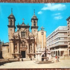 Postales: LA CORUÑA - IGLESIA DE SAN JORGE. Lote 158208098