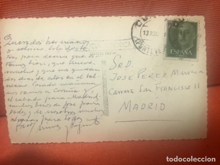 Postales: MARIN,CALLE DEL ALMIRANTE SALVADOR MORENO POSTAL Pontevedra Galicia circulada - Foto 2 - 158330378