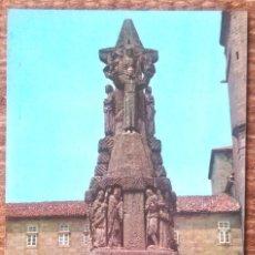 Postales: SANTIAGO DE COMPOSTELA - MONUMENTO A SAN FRANCISCO. Lote 158369046