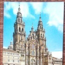 Postales: SANTIAGO DE COMPOSTELA - CATEDRAL - FACHADA DEL OBRADOIRO. Lote 158369170