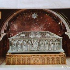 Cartoline: SANTIAGO DE COMPOSTELA, URNA DEL APOSTOL SANTIAGO - ESCUDO DE ORO Nº 30 - SIN CIRCULAR ROMANICO. Lote 158973530