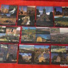 Postales: LOTE 10 POSTALES CONCELLERIA TURISMO GONDOMAR PONTEVEDRA MORGADANS BORREIROS DONAS COUSO VILAZA ETC. Lote 159289898