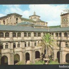 Postales: POSTAL SIN CIRCULAR - MONASTERIO DE SAMOS 9 - LUGO - CLAUSTRO - EDITA FOTO RELISA. Lote 159720182