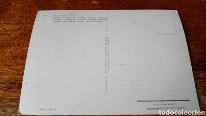 Postales: Villalba. Lugo. Hostaje Condes de Villalba. Ediciónes Alce - Foto 2 - 160623265