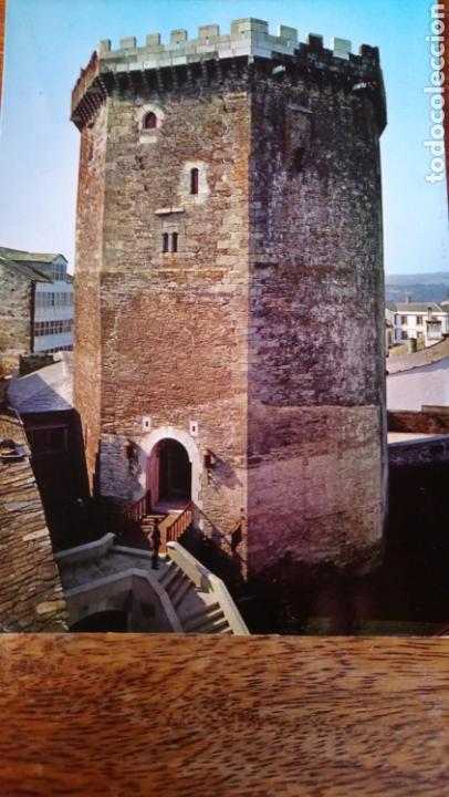 VILLALBA. LUGO. HOSTAJE CONDES DE VILLALBA. EDICIÓNES ALCE (Postales - España - Galicia Moderna (desde 1940))