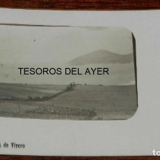 Postales: POSTAL FOTOGRAFICA DEL PLAYAL O BARRA DE VIVERO, (VIVEIRO), LUGO, CIRCULADA EN 1914, RARISIMA POSTAL. Lote 161083750