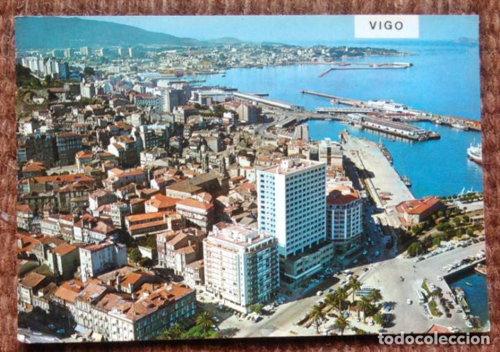 VIGO - VISTA AEREA (Postales - España - Galicia Moderna (desde 1940))