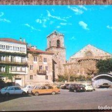Postales: LA CORUÑA - IGLESIA DE SANTIAGO. Lote 161207506