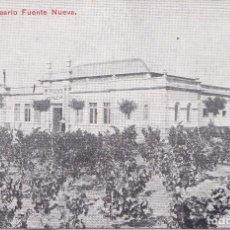 Postales: VERIN (ORENSE) - BALNEARIO FUENTE NUEVA. Lote 162327894