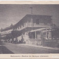 Postales: BAÑOS DE MOLGAS (ORENSE) - BALNEARIO. Lote 162327954