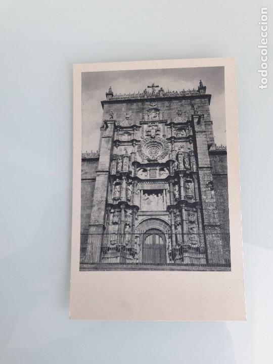 TARJETA POSTAL - PONTEVEDRA - GALICIA - FACHADA SANTA MARÍA LA MAYOR - FOURNIER - SIN CIRCULAR (Postales - España - Galicia Moderna (desde 1940))