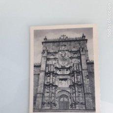 Postales: TARJETA POSTAL - PONTEVEDRA - GALICIA - FACHADA SANTA MARÍA LA MAYOR - FOURNIER - SIN CIRCULAR. Lote 162642890