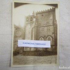 Postales: GALICIA TUY - FOTOGRAFIA EN SEPIA ' CATEDRAL ' 18X13CM, PAPEL FINO MATE. 1S. Lote 163083110