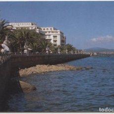 Postales: Nº 6 - LA TOJA. PONTEVEDRA. PASEO. SIN CIRCULAR. ED. ESCUDO DE ORO.. Lote 163495114