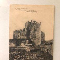 Postales: ANTIGUA POSTAL FERROL EL CORREO GALLEGO ALREDEDORES DE FERROL CASTILLO DE MOECHE 1919 GALICIA . Lote 163878450
