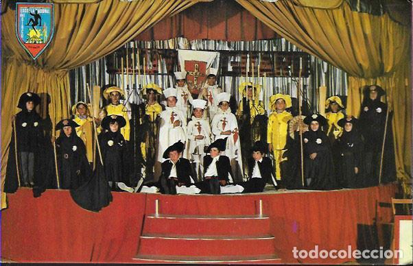 POSTAL *ORENSE , ESCUELA NACIONAL DE CIRCO, CIUDAD DE LOS MUCHACHOS * 1966 (Postales - España - Galicia Moderna (desde 1940))